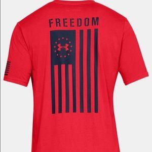 Under Armour Freedom USA Flag Men's T-Shirt